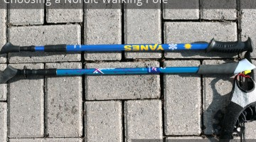 Choosing a Nordic Walking Pole