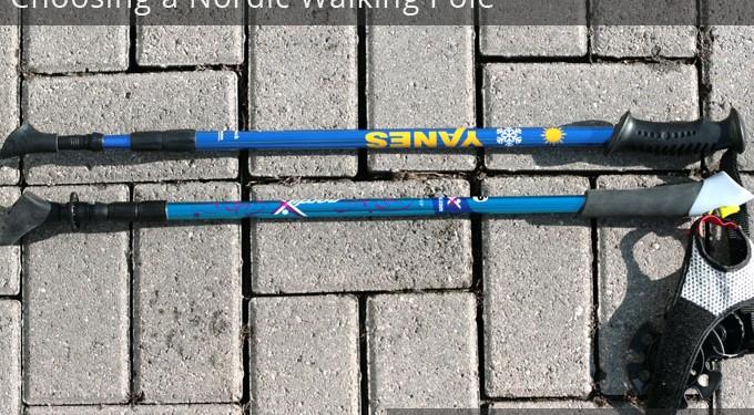 Choosing a Nordic Walking Pole