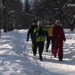 Funny Russian Nordic Walking Video