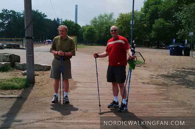 Jack Ward, Randal Oulton, Nordic Walking